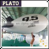 2016 hot sale inflatable blimp airship balloon, PVC inflatable zeppelin balloon for advertising