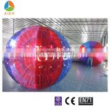 Hot sale Dia-2.6m colored zorb ball with best price