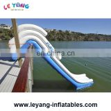 Water Toys Inflatable Yacht Slide On The Sea , The Inflatable Sea Slide