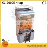 Orange suqeezer,automatic citrus juicer,XC-2000E-4TAP