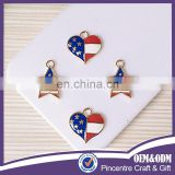 Wholesale American Flag Jewelry ,Custom Made Country Flag Charms And Pendants
