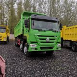 Used/Secondhand HOWO dump truck 8x4 In Nigeria