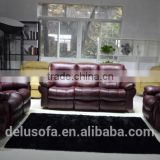 High Quality Modern Leather Air Electric Power Sectional Recliner Sofa Set New Designs 2016
