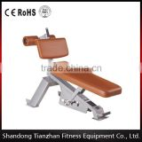 CE approved 2016 new design/commercial gym equipment/ TZ-5025 abdominal bench/ weight bench