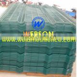 PVC coated wire mesh fence ,weld mesh fence -Werson brand ,many security project contractor