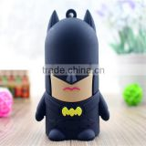 PVC Cartoon batman 5200mAh power bank phone charger                                                                         Quality Choice
