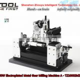 Powerful 60W Electroplated Metal Gear Milling Machine A for soft metal process , wood working ,hobby model making