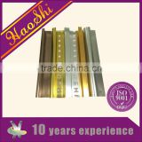 6063 series extruded anodized Aluminium ceramic corner tile trim