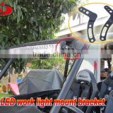 High quality black metal led light bar mount bracket for Polaris rzaor RZR 1000 & RZR 900
