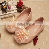 Lovely Pear Bow Kids Sandal Fancy Girls Princess Shoes