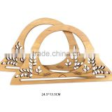 INQUIRY ABOUT 24.5*13.5 CM wood bag handle