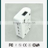 4 ports usb travel charger with UL FCC CE certificates