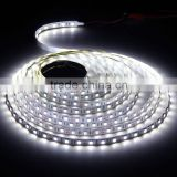 5m 500cm 5050 Cool White SMD 300 LED Flexible Light Strip Lamp DC 12V