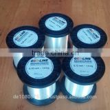 best quality nylon monofilament fishing lines 100% made in Germany medium spools 6000M 0.14mm