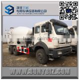 Factory Direct Sale 6X4 North Benz Concrete Mixer Truck 9 M3 Beiben Cement Mixer Truck                                                                         Quality Choice