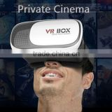 Wholesale VR BOX V2 3d vr Glasses Mobile Phone Virtual Reality Fit 3.5 to 6.0 inch mobile phone 3 d Glasses