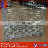 Storage Metal Cage Pallet Steel Cage Wire Mesh Container