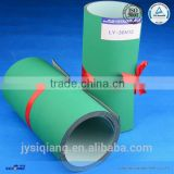 1.5mm light green grass green nylon base belt industrial flat conveyor belts used for machinery