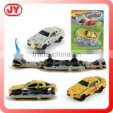 New arrival plastic toy deformation car