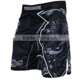 cheap black mma kickboxing shorts for fight swimming