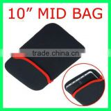 "10"" Tablet PC MID Pouch Portable Protect Cloth Cover Case Soft Bag Black"
