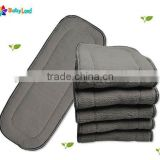 5 layers charcoal bamboo inserts for washable diapers hot new products for 2016