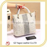 bud silk leather hangbag set auger single shoulder bag cross body bag                                                                         Quality Choice