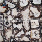 Black agate slab for wall tile slab,table top,home decoration