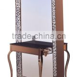 Great deal antique metal and french style mirror
