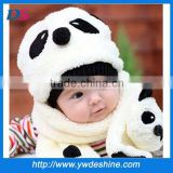 New product high quality fashion warm baby plush Scarf&hat winter WJ-655