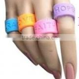 Custom High Quality Promotional Silicone Rubber Wedding Rings
