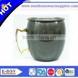 High quality stainless steel hammer mule mug for advanced milk mug coffee mug                                                                                                         Supplier's Choice