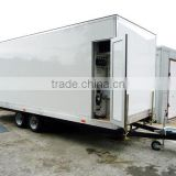 Camper trailer tent, Portable Toilet, Movable trailer Toilet