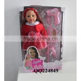 New baby doll 18 inch American girl doll toy doll for sale With IC