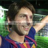 Celebrity Lionel messi lifesize wax sculpture for sale