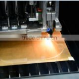 High Speed 80W 100W auto feeding fabric garment textile laser CNC cutting and uv printing integrated machine