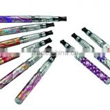 newest colorful printing pattern battery electronic cigarette EGO Q,E cig ego q with pattern battery