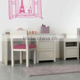 High Quality Non-toxic Painting Kids Desks Laminate Students Table with Water Base Painting Chairs