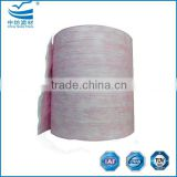 Bag filter roll materials for HVAC air filter