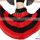 SWEGAL wholesale belly dance gypsy skirt,belly dance expansion skirts SGBDS13037