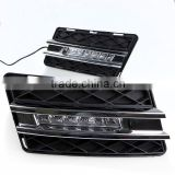 12V ABS LED DRL Daytime Running Light Car Front Fog Lamp For Mercedes-Benz W204 GLK-Class GLK300 GLK350 GLK500 2008-2012                                                                         Quality Choice