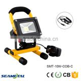 10W LED Outdoor Emergency Portable Rechargeable Flood Light Working Lamp
