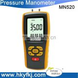 High Accuracy Manometro USB LCD Digital Air Pressure Gauge Measuring Range 35kPa Temperature Compensation