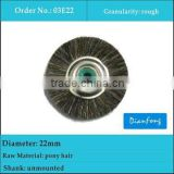 22mm unmounted dental pony hair brushes for composite materials
