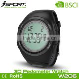 CE Rohs 3D Sensor Walking Running Free Logo Man Watches
