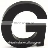 exquisite charming black laser cut acrylic numbers Shenzhen factory