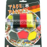 2016 Euro world cup football favorite supplier face paint world cup whole sales fans body paint stick