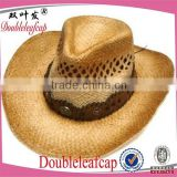 Fashion Women Hot Fashion Big Wide Brim Beach Sun Cap straw cowboy hats Sun hat