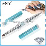 ANY Nail UV Gel Art Paiting Design Rhinestone Two Way Nail Brush Japan Style