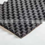 Automotive heat and sound insulation egg crate foam